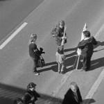 Fin de manifestation en famille (printemps 2010,Rouen)